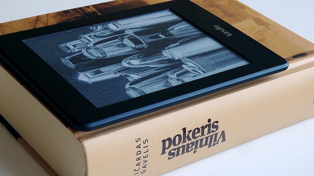 Knyga vs skaityklė